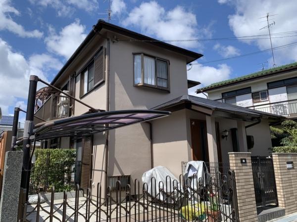 豊中市上野西T様邸外壁屋根塗装防水リフォーム