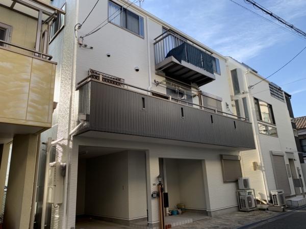 豊中市服部南町N様邸屋根外壁塗装防水リフォーム