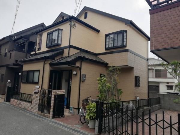 豊中市末広町M様邸屋根外壁塗装防水リフォーム