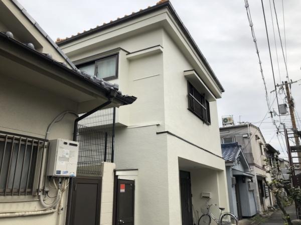 豊中市庄内東町T様邸外壁屋根塗装防水リフォーム