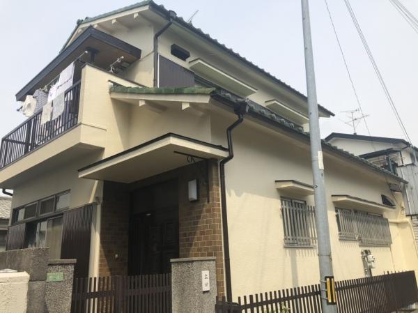 豊中市庄本町U様邸外壁屋根塗装防水リフォーム