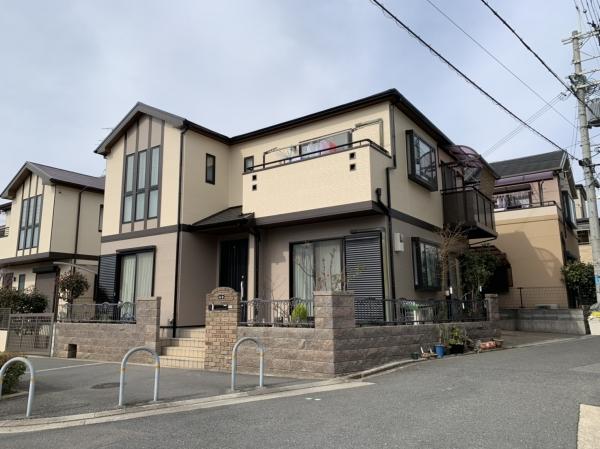 豊中市上野西K様邸屋根外壁塗装防水リフォーム