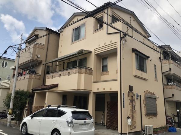 大阪市旭区太子橋K様邸外壁塗装防水リフォーム