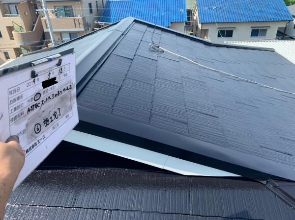 尼崎市瓦宮 N様邸屋根塗装防水リフォーム