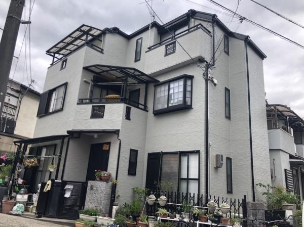 川西市久代T様邸屋根外壁塗装防水リフォーム