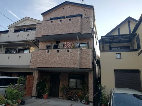 豊中市熊野町Y様邸屋根外壁塗装防水リフォーム
