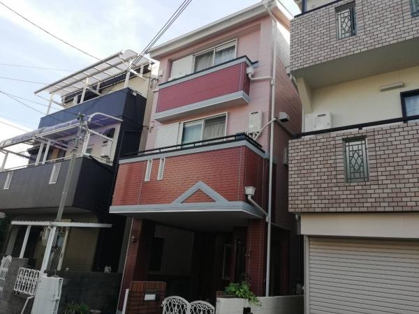 豊中市夕日丘O様邸外壁屋根塗装・防水リフォーム