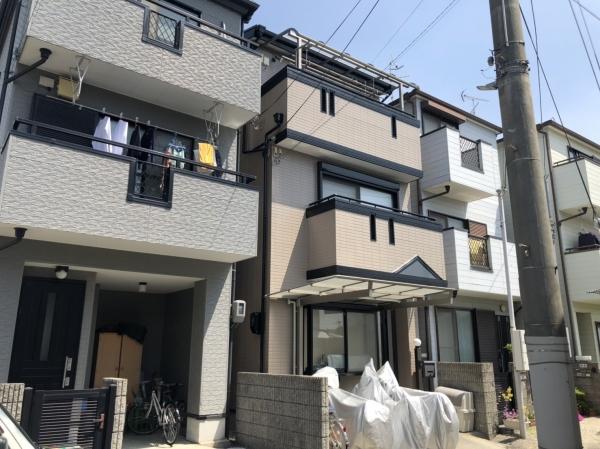 川西市栄根H様邸外壁屋根塗装防水リフォーム