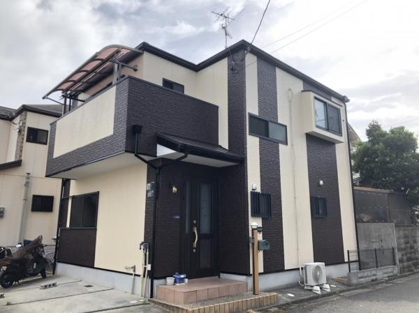 尼崎市富松町 A様邸外壁屋根塗装防水リフォーム