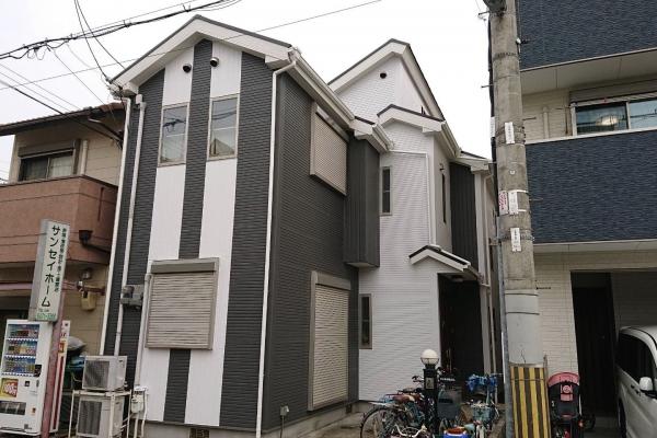 大阪市西淀川区H様邸屋根外壁塗装防水リフォーム