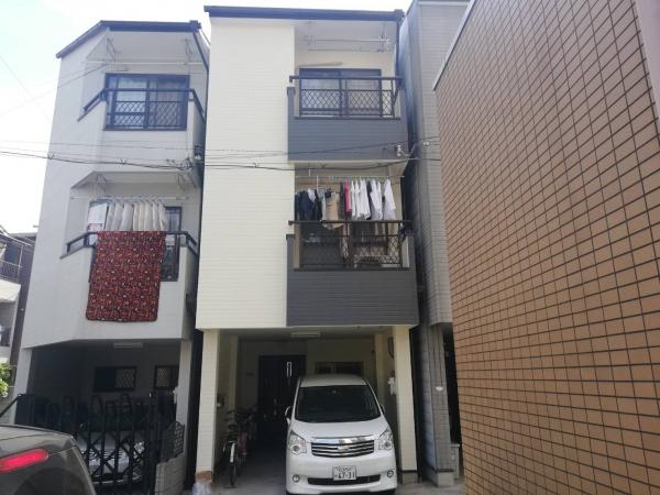 大阪市東淀川区K様邸外壁1面屋根塗装防水リフォーム