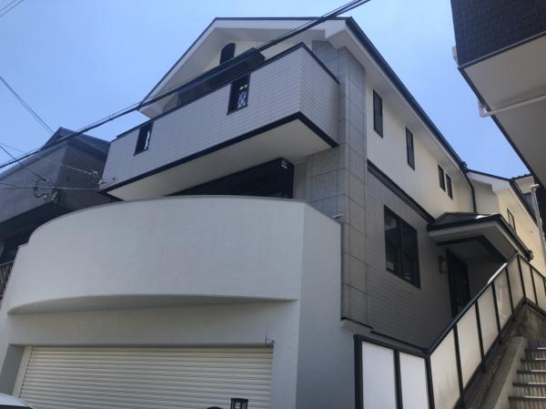 豊中市刀根山外壁屋根塗装防水リフォーム
