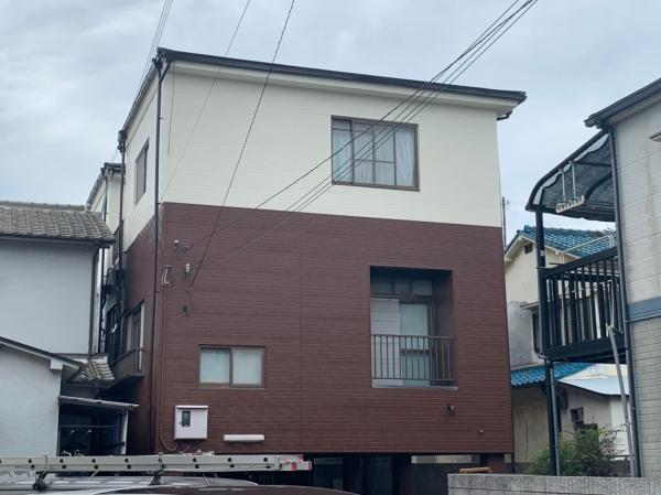 大阪市西淀川区K様邸外壁屋根塗装防水リフォーム