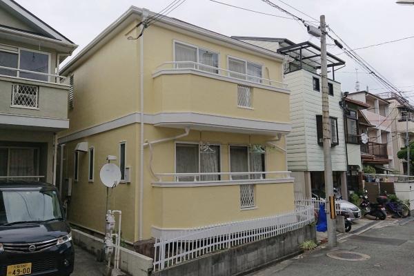 豊中市岡町南U様邸外壁屋根塗装防水リフォーム