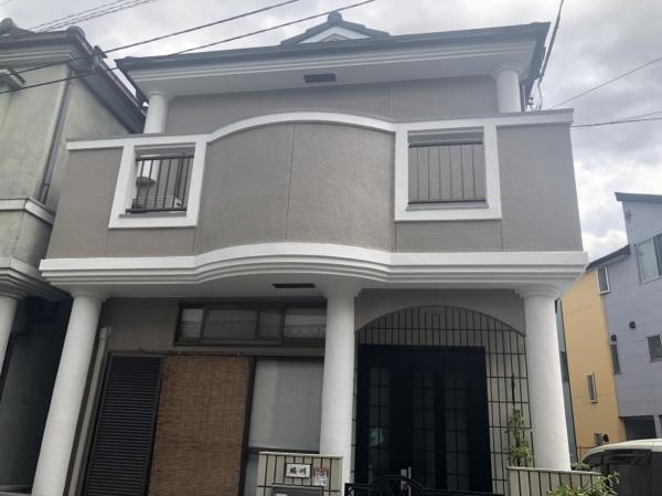 豊中市桜の町H様邸外壁屋根塗装防水リフォーム