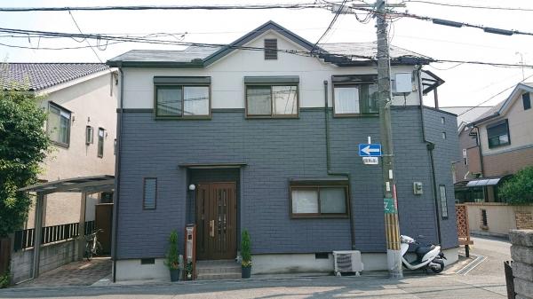 豊中市原田元町Y様邸外壁屋根塗装防水リフォーム