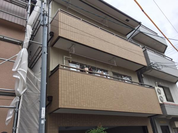 豊中市本町K様邸外壁屋根塗装・防水リフォーム