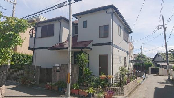 豊中市上野西T様邸外壁1階塗装防水リフォーム