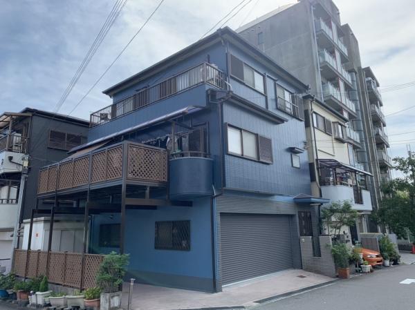 豊中市庄内栄町I様邸外壁屋根塗装防水リフォーム
