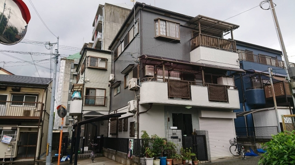 豊中市庄内栄町外壁屋根塗装防水リフォーム