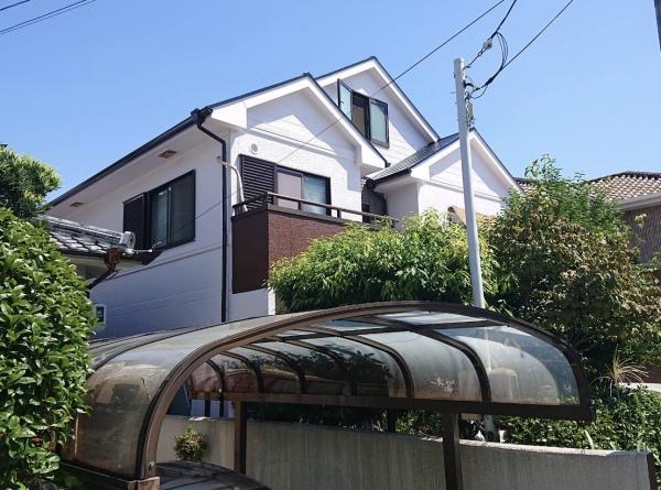 尼崎市東園田町 N様邸外壁屋根塗装防水リフォーム