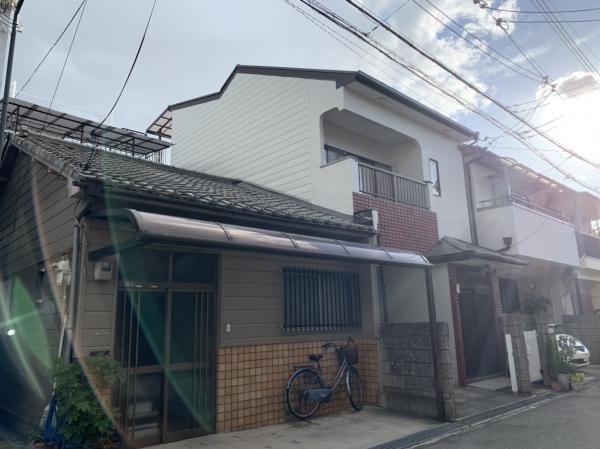 豊中市大黒町S様邸外壁屋根塗装防水リフォーム