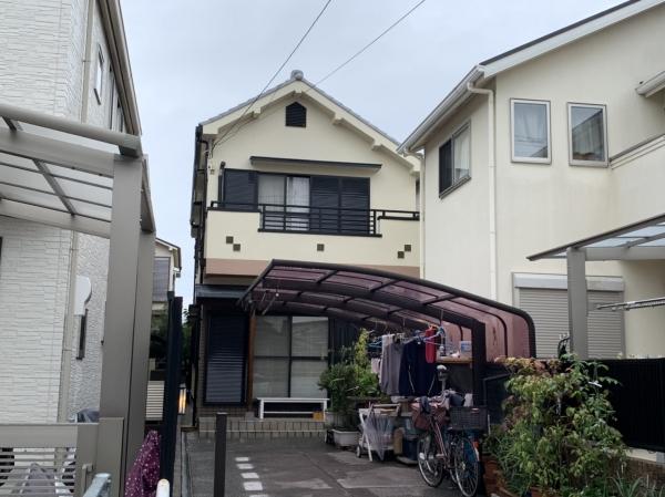 尼崎市Y様邸外壁塗装防水リフォーム