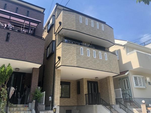 豊中市長興寺H様邸外壁塗装防水リフォーム