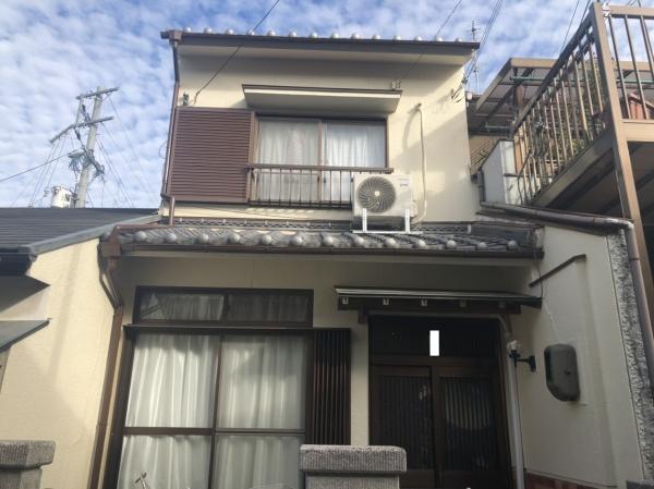豊中市庄本町H様邸外壁塗装防水リフォーム