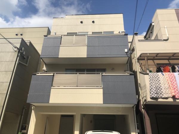 大阪市西淀川区U様邸外壁屋根塗装防水リフォーム