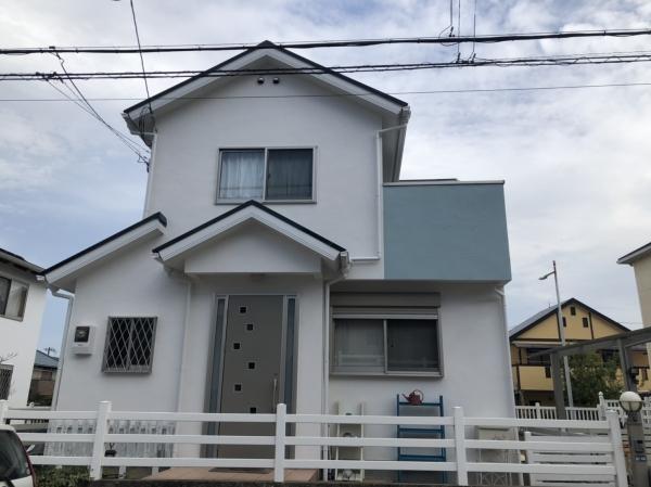 川西市K様邸外壁屋根塗装防水リフォーム
