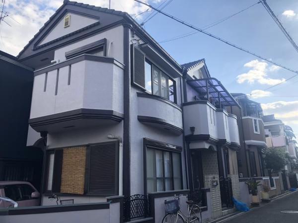 豊中市二葉町K様邸外壁塗装防水リフォーム