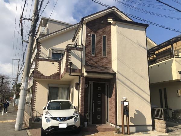 尼崎市K様邸外壁屋根塗装防水リフォーム
