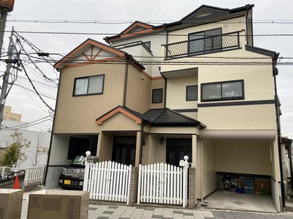 伊丹市K様邸外壁屋根塗装防水リフォーム