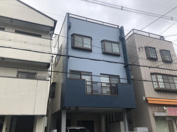 豊中市熊野町M様邸外壁塗装屋上防水リフォーム