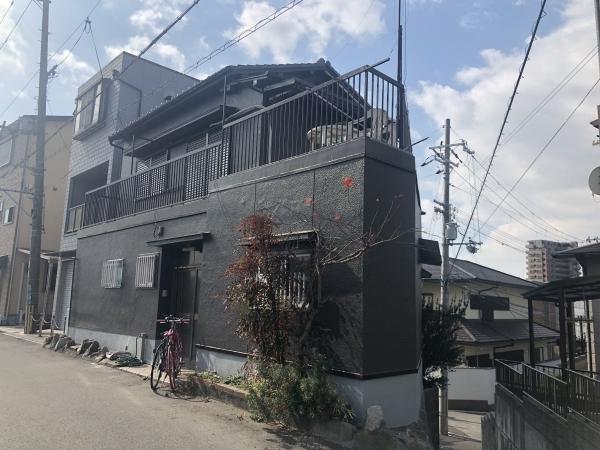 豊中市庄内東町M様邸外壁塗装リフォーム