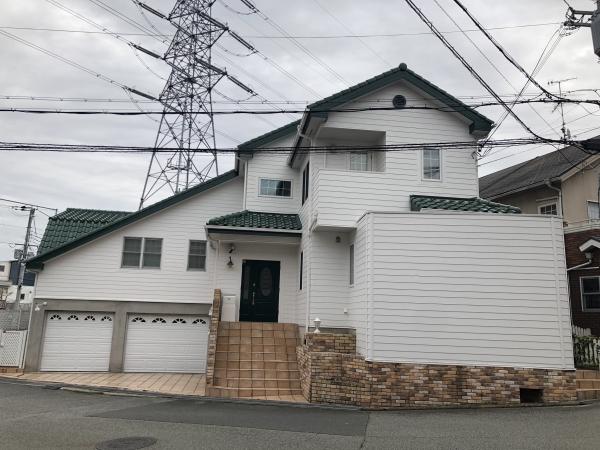 宝塚市S様邸外壁塗装防水リフォーム