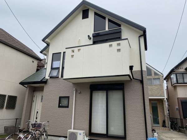 西宮市Y様邸外壁屋根塗装防水リフォーム