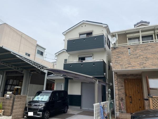 尼崎市築地S様邸外壁屋根塗装防水リフォーム
