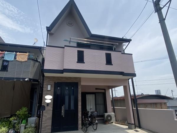 豊中市桜の町M様邸外壁屋根塗装防水リフォーム