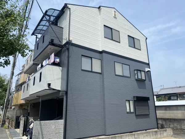 尼崎市武庫町F様邸外壁屋根塗装防水リフォーム