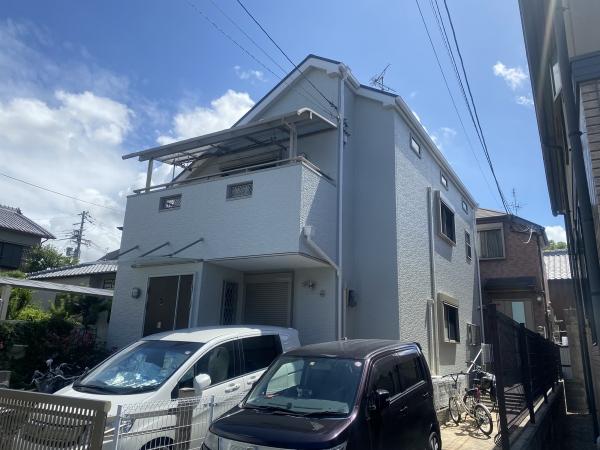 豊中市岡町K様邸外壁屋根塗装防水リフォーム