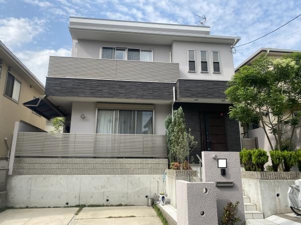豊中市緑丘K様邸外壁屋根塗装防水リフォーム