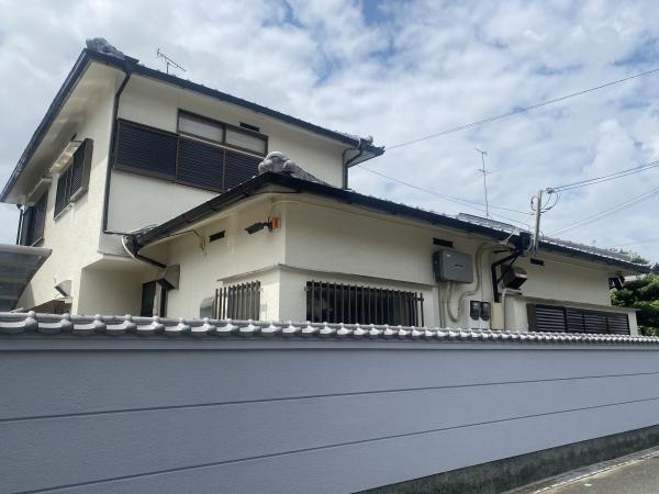 豊中市北桜塚T様邸外壁塗装防水リフォーム