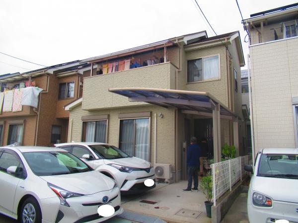 吹田市岸辺中T様邸外壁屋根塗装防水リフォーム