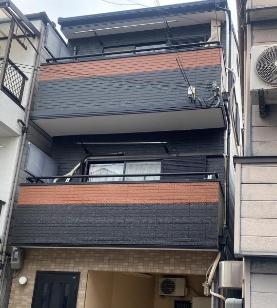豊中市庄内栄町N様邸外壁屋根塗装防水リフォーム
