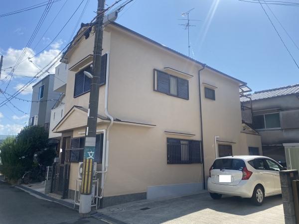 豊中市桜の町K様邸外壁塗装防水リフォーム
