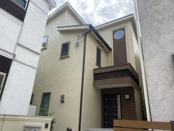 豊中市刀根山A様邸外壁屋根塗装防水リフォーム