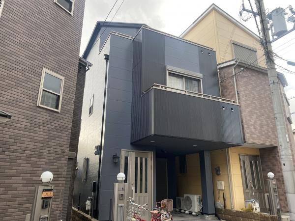 大阪市淀川区姫路F様邸外壁屋根塗装防水リフォーム