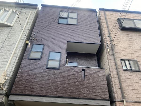 豊中市庄内幸町K様邸外壁塗装防水リフォーム